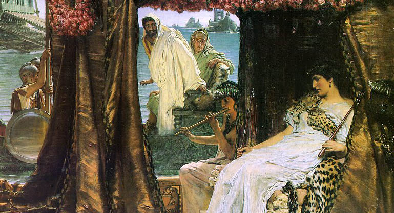 an analysis of antony and cleopatra Plot summary of shakespeare's antony & cleopatra: after defeating brutus and  cassius, following the assassination of julius caesar, mark antony becomes.