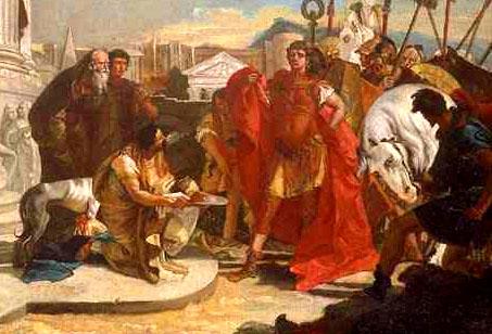 Julius Caesar In Battle Opinions on Caesar's C...