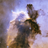 Stars, Galaxies, and Beyond: Astronomy and Astrophysics (Eagle Nebula, HST)