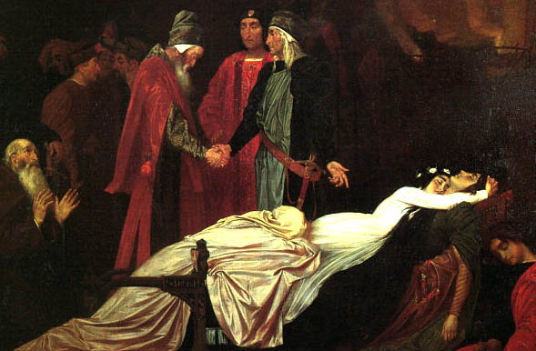 Leighton lord frederic the reconciliation of the montagues and