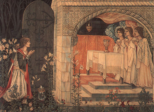 Morris (William), Vision of the Holy Grail, 1890